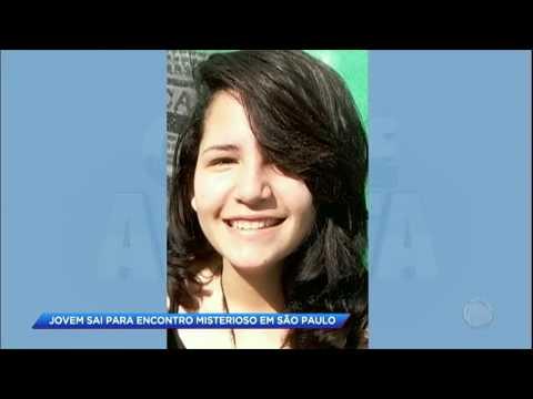 Jovem sai para encontro misterioso e desaparece em São Paulo