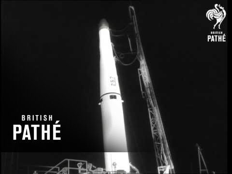 Space Technology Laboratory At Cape Canaveral (1960)
