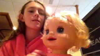 Vlog 31: Lanie Has Curly Hair!