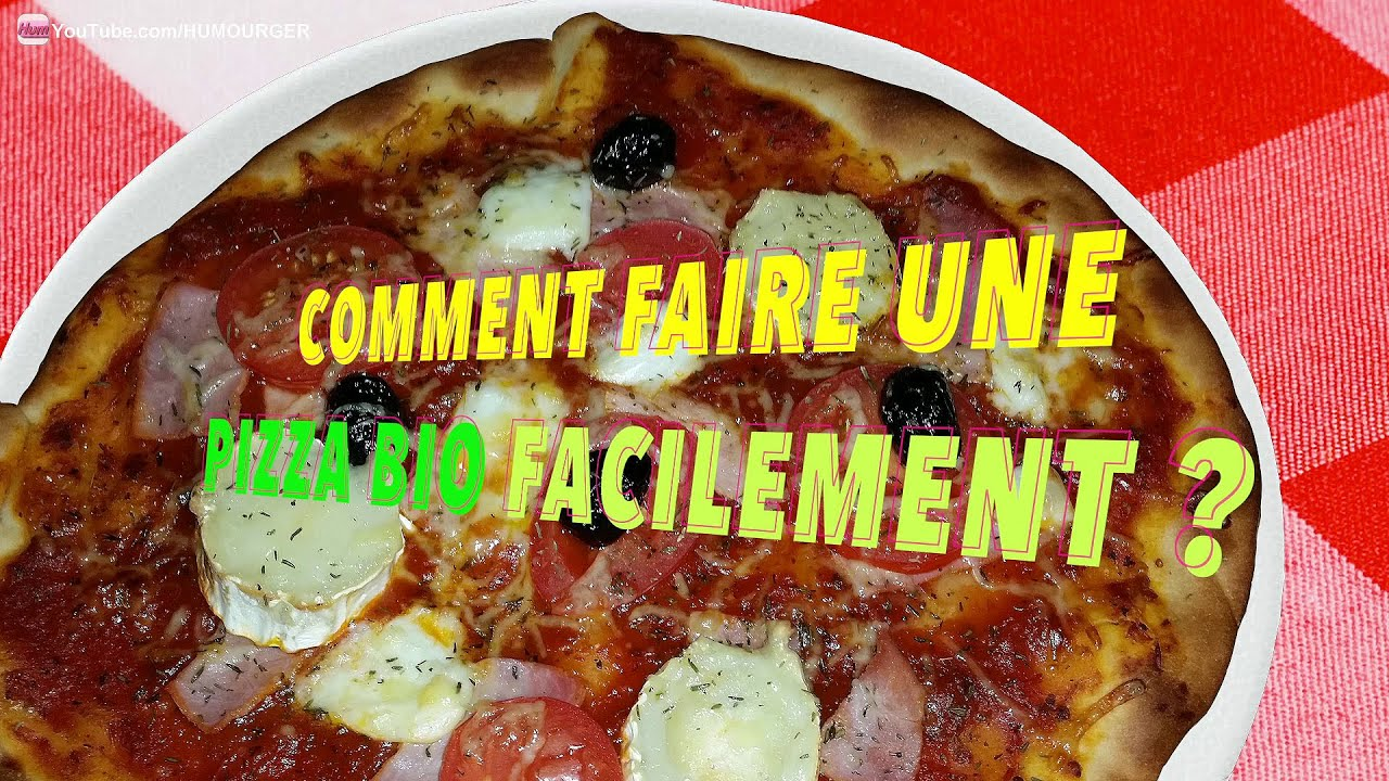 Comment faire facilement sa propre pizza bio la maison youtube - Faire sa propre maison ...