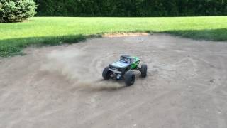 "Defying PHYSICS With The Traxxas Stampede 2wd Brushless ""Chev-E"" 