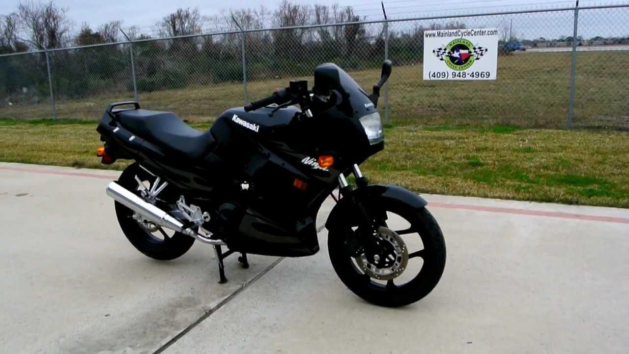 2006 Kawasaki Ninja 250R Ebony - YouTube
