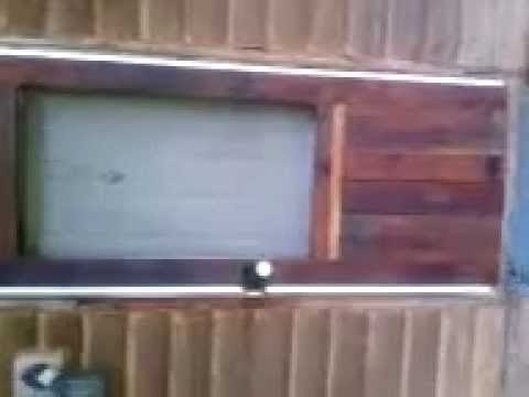 How To Make A Rustic Storm Door