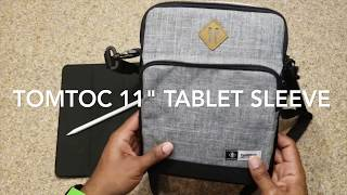 "TomToc 11"" iPad Pro Tablet Sleeve Review..."