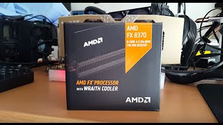 Unbox y Detalles Procesador AMD FX-8370 8 Core con Wraith Cooler
