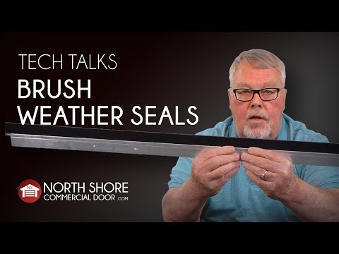 Garage Door Brush Weather Seal Intro And How To