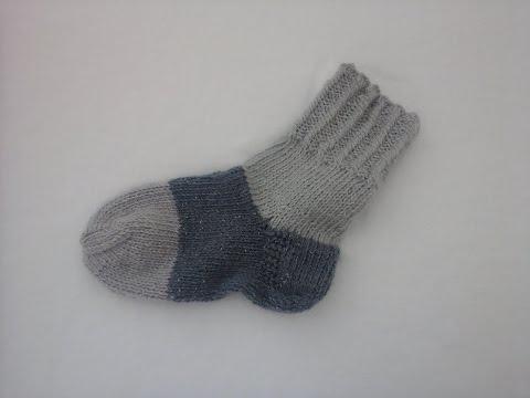 Как связать носки спицами& Закрытие петель мыска Simple socks spokes/ Part 3/3