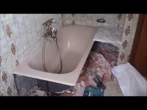 Sustituci n de ba era por plato de ducha de obra pizarra - Sustitucion de banera por plato de ducha ...