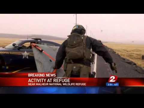 Burns Oregon--Breaking Convoy going into refuge