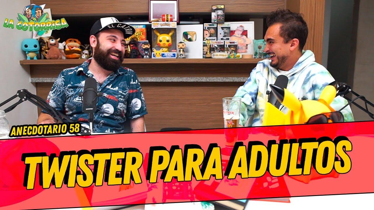 La Cotorrisa - Anecdotario 58 - Twister para adultos