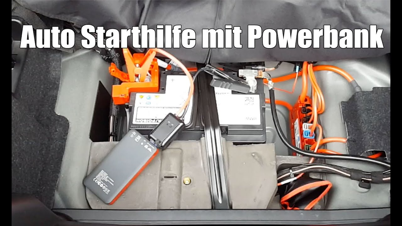 auto starthilfe geben mit powerbank carmate3 poweradd youtube. Black Bedroom Furniture Sets. Home Design Ideas