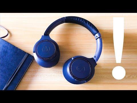 Audio Technica ATH-SR30BT Headphone Review: 70 HOUR Battery!