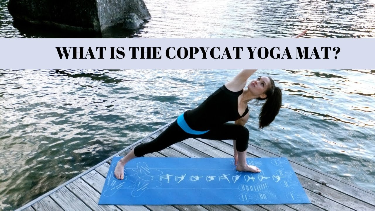 Yoga For Beginners With The Instructional Yoga Mat By Copycat Yoga