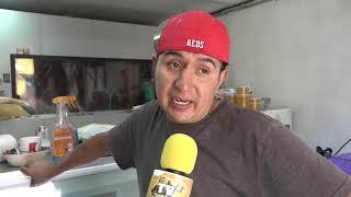 Pérdidas de comerciantes por granizada en San Miguel de Allende