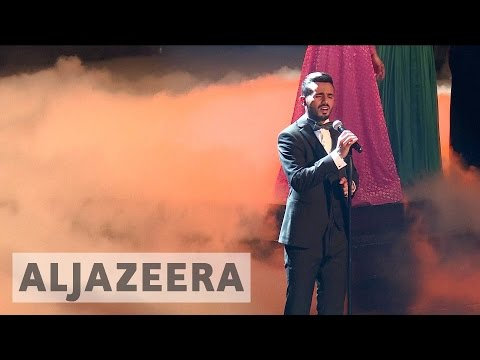 Palestinian Yacoub Shaheen wins Arab Idol song contest