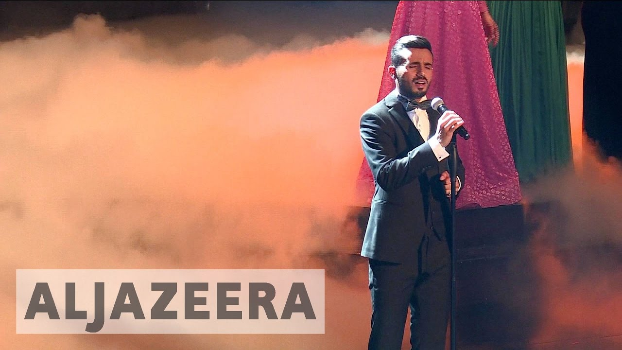 Palestinian Yacoub Shaheen wins Arab Idol song contest