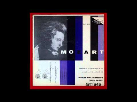 mozart, serenade no 11, k 375 , VIENNA PHILHAMONIC WIND GROUP