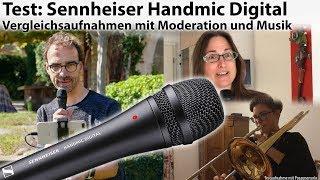 Ton-Test: Smartphone-Mikrofon Sennheiser Handmic Digital - von Moderation bis Musik