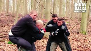 Forest Training with Heath Leavitt, Institute Krav Maga Netherlands