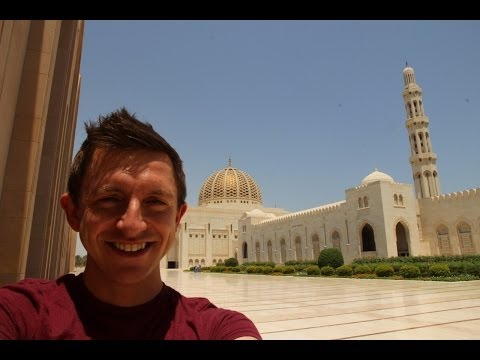 Visiting Sultan Qaboos Grand Mosque in Muscat, Oman!