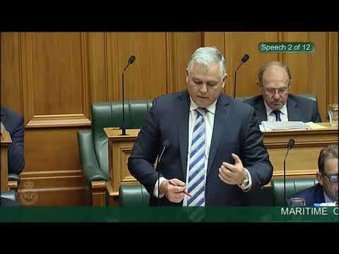 Maritime Crimes Amendment Bill - Third Reading - Video 2