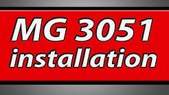 Canon Pixma MG3051 printer installation