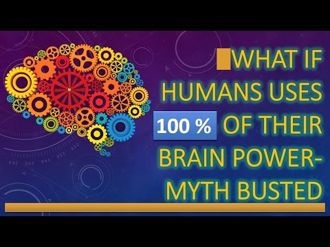 What if humans uses 100 % of their brain power ? - Myth Busted.