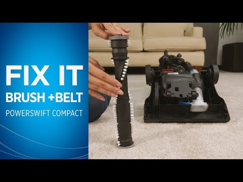 How to Fix the Brushroll & Belt on your PowerSwift™ Compact