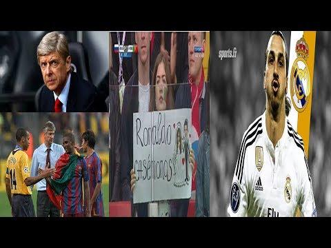زلاتان يريد ريال مدريد/فينغر يهاجم برشلونة/مشجعة تريد الزواج من كرستيانو رونالدو