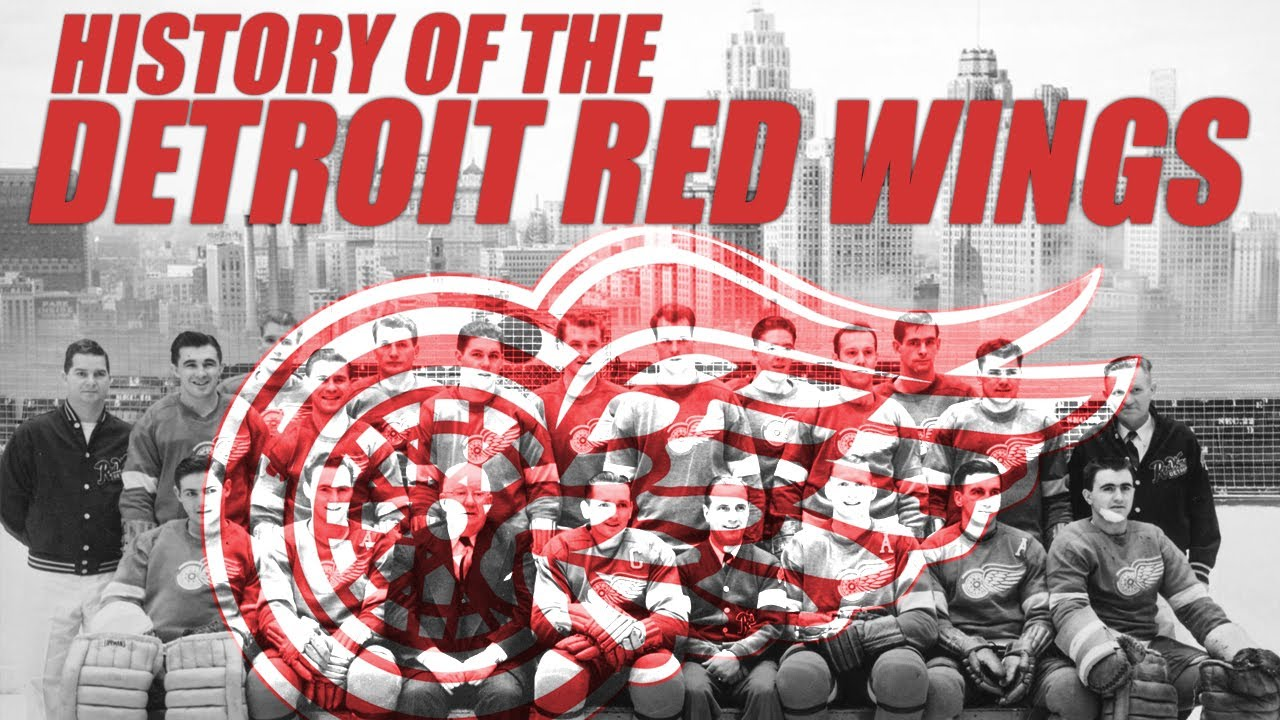 7f658706312 The History of the Detroit Red Wings - YouTube