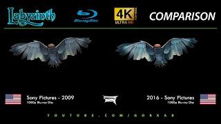Blu-ray Versus - Labyrinth (2009 vs 2016)