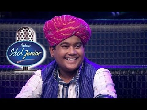 Moti Khan Indian Idol Junior, Barmer with Shree Kalptaru Sansthan - Environment