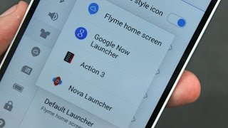 How to Change Launcher (Install Custom Launcher) in MEIZU Fly-Me OS