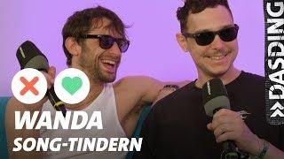 Song-Tindern: Wanda - Verpeilt zwischen RAF Camora, David Guetta und den Beatles | DASDING Interview