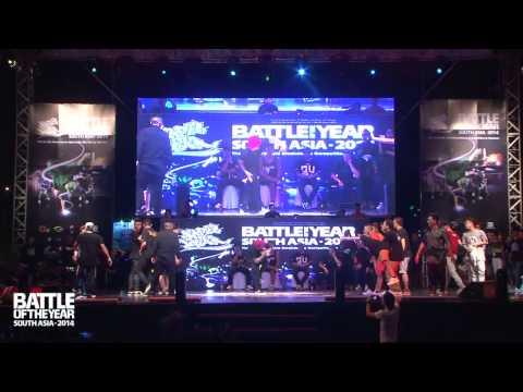 SEMI FINAL   S.I.N.E (Vietnam) vs GILLER BATTLE (Malaysia)   BOTY South Asia 2014