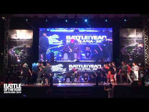 SEMI FINAL | S.I.N.E (Vietnam) vs GILLER BATTLE (Malaysia) | BOTY South Asia 2014