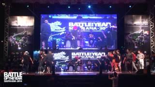 SEMI FINAL | S.I.N.E (Vietnam) vs GILLER BATTLE (Malaysia) | BOTY South Asia 2014