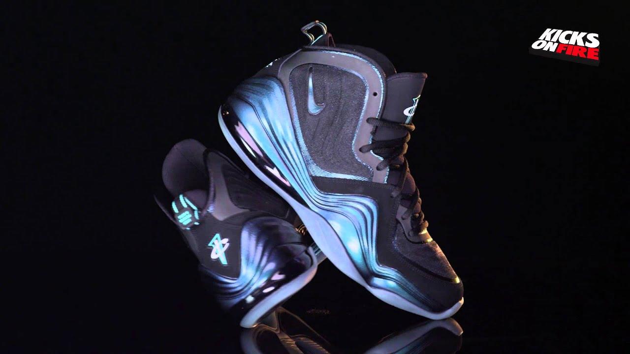 89c6aec03e3 Nike Air Penny 5 - Invisibility Cloak (360 View) - YouTube