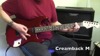 Celestion Creamback G12M-65 vs G12H-75