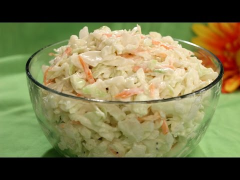 Sweet Coleslaw Recipe - Amy Lynn's Kitchen