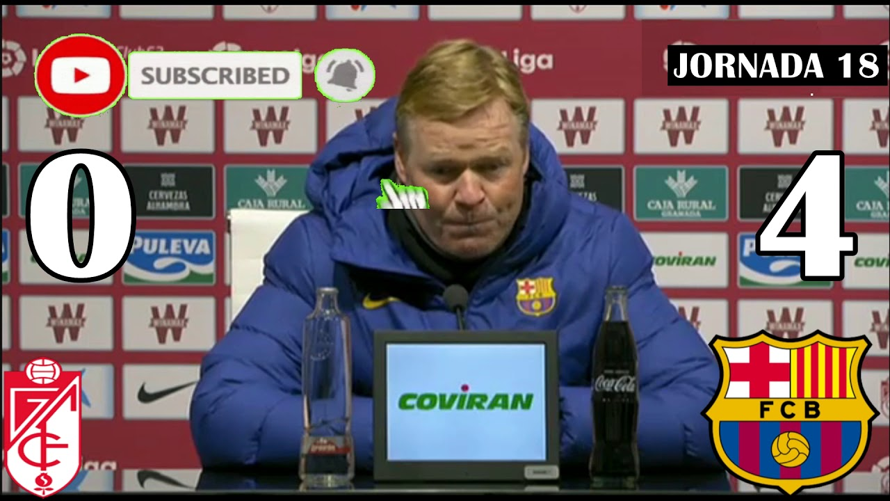 Download Rueda de prensa de Ronald Koeman Granada 0 FCB 4