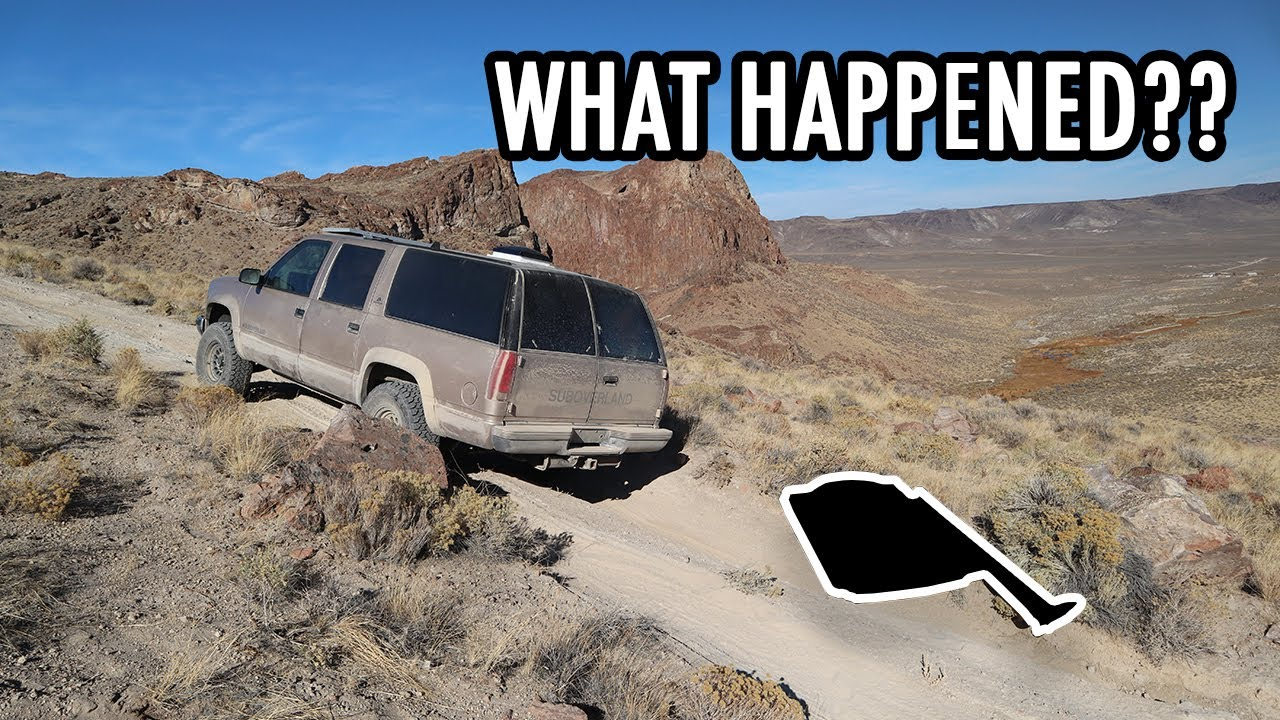 Equipment Failures, Desert Hot Springs & Preserved Ruins! (SUV Camping/Vanlife Adventures)