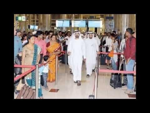 Shaikh Mohammad Bin Rashid inspects Dubai Airport