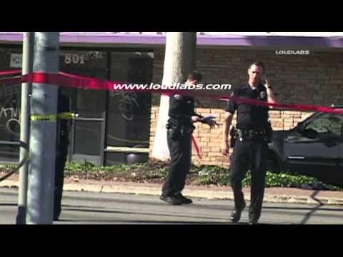 Sidewalk Shooting Sends Man to Hospital / North Long beach