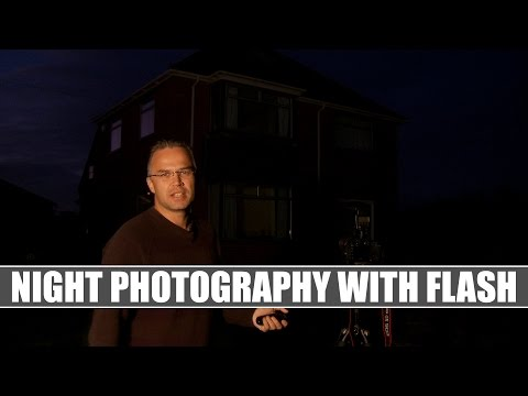 DSLR Training 9 – Night Photography with Flash