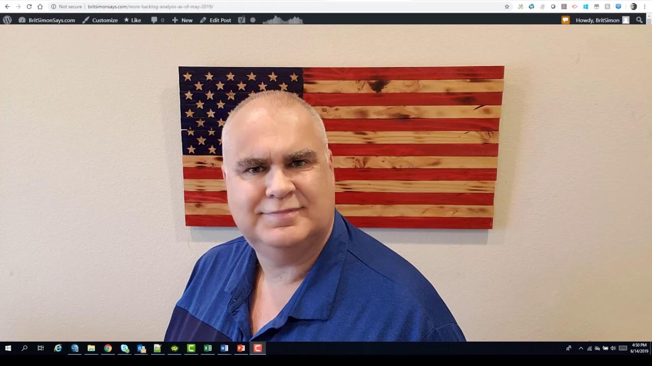 New procedure and backlog analysis video posted ~ BritSimonSays com