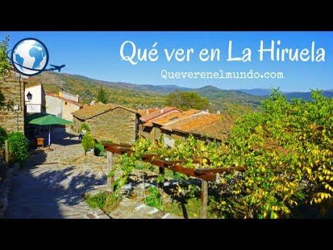 Un paseo por el pueblo de La Hiruela