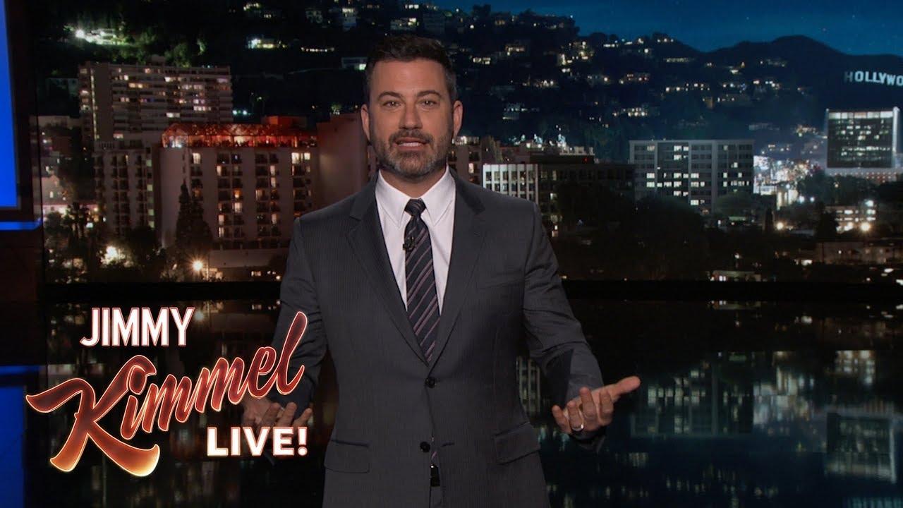 Jimmy Kimmel On Roseanne Cancellation