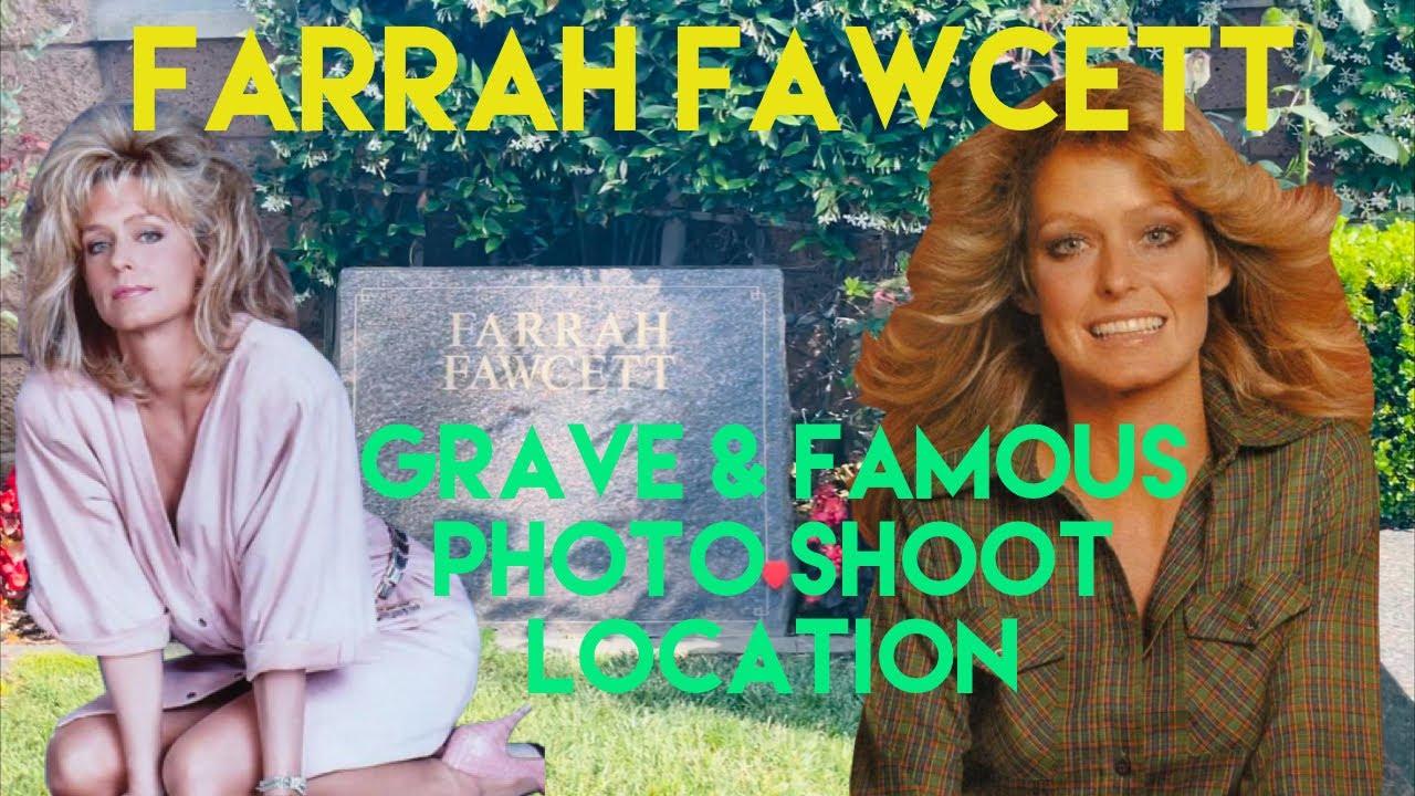 Famous Graves : Farrah Fawcett 70's Icon & Famous Charlie's Angels Photo Shoot Location | Gravesite