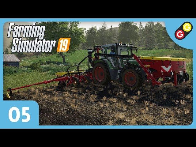 Farming Simulator 19 #05 On achète une nouvelle planteuse ! [FR]